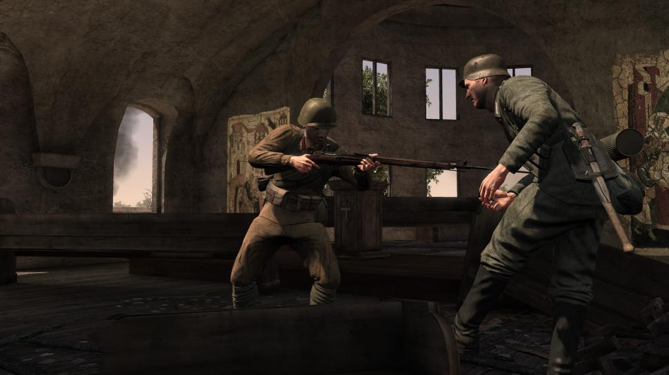 Neue Screenshots aus Red Orchestra 2: Heroes of Stalingrad.