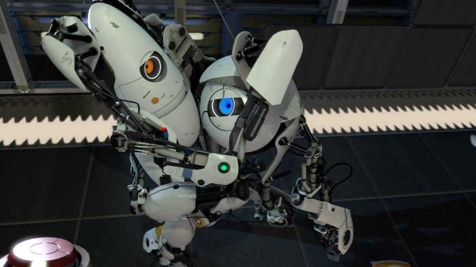 Top 8: Valve brings his own sterile style of portal loving robots. <b>Portal 2</b> is one promising shooter coming 2011 but not the most realistically looking one.
