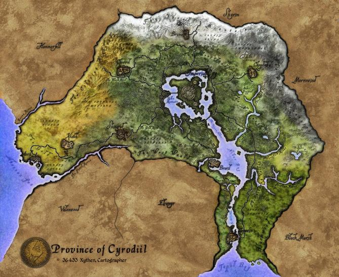 Oblivion Karte.Auf Die Größe Kommt Es An Die Riesigsten Spielwelten Der Geschichte