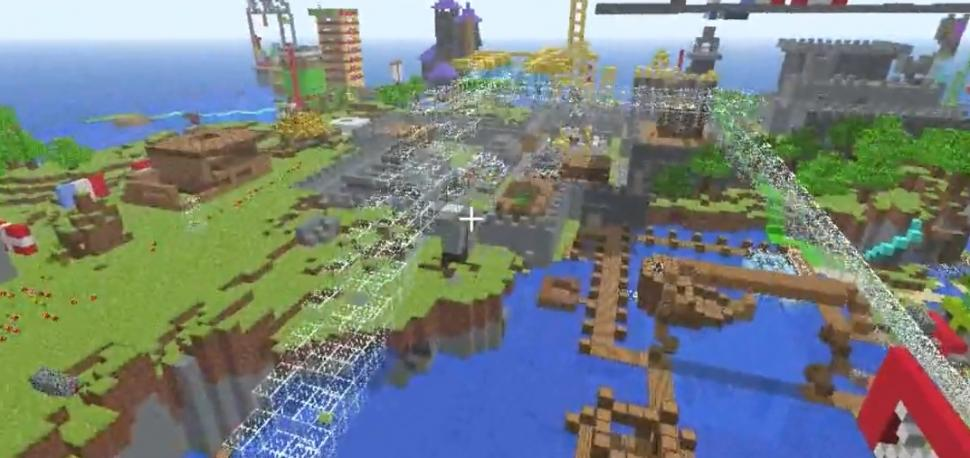 Minecraft Mit Super Mario Batman Darth Vader Und Mehr Skins - Minecraft spiele schieben