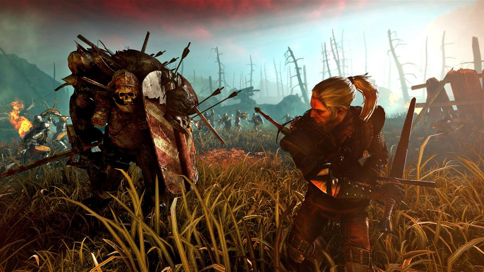 Hier seht ihr The Witcher 2: Assassin of Kings in Aktion