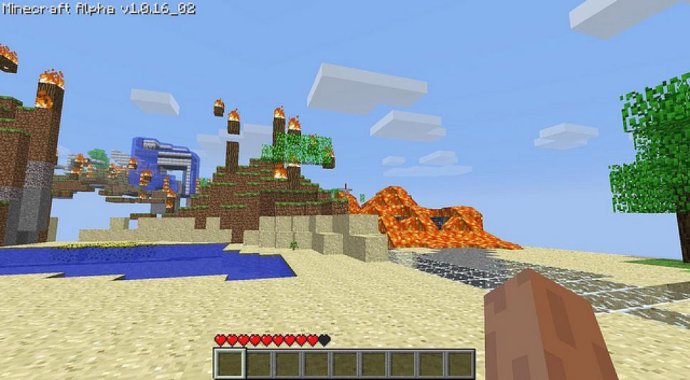 Minecraft Bekommt Das SandboxGame Ein AchievementSystem - Minecraft spiele schieben