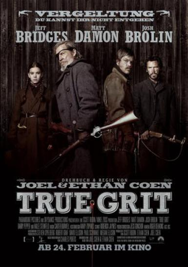 True Grit - ab Donnerstag im Kino.