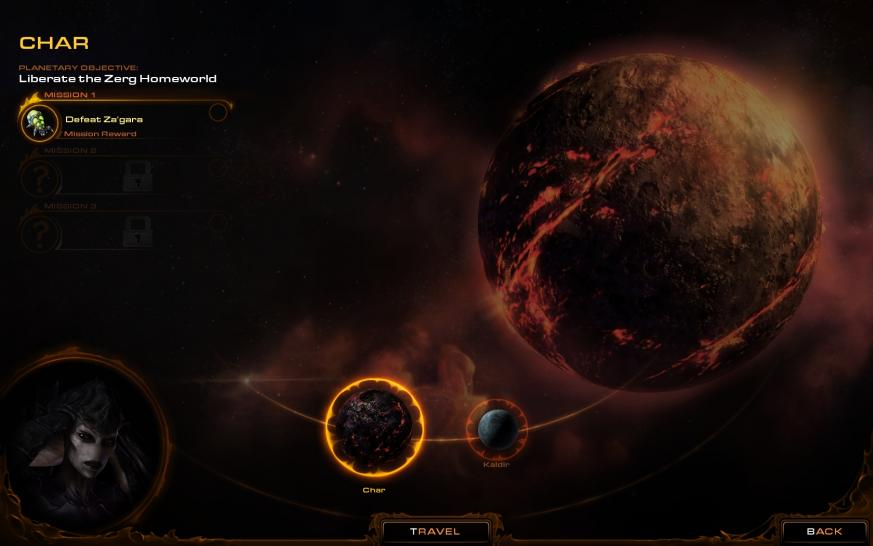 Das sind Screenshots zu Starcraft 2: Heart of the Swarm. (1)