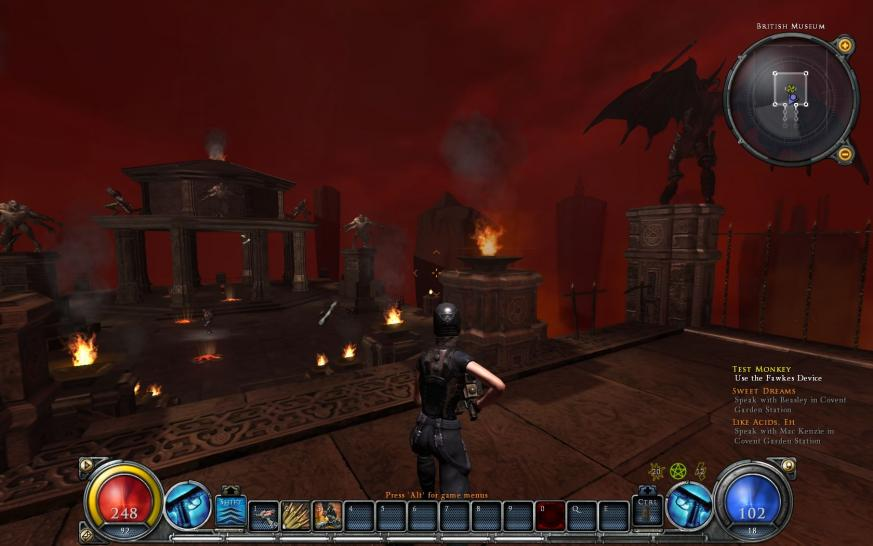 Hier gibt es Screenshots aus Hellgate Global. (1)