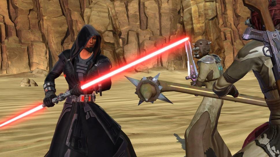 Hier seht ihr Screenshots aus Star Wars: The Old Republic. (1)