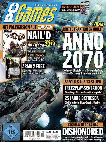 pc games 8 11 brandneue details zu anno 2070 rennspiel nail 39 d als vollversion gamescom guide. Black Bedroom Furniture Sets. Home Design Ideas