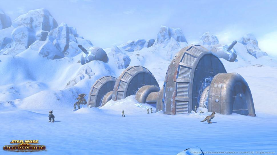 Hier gibt es Screenshots aus Star Wars: The Old Republic. (1)
