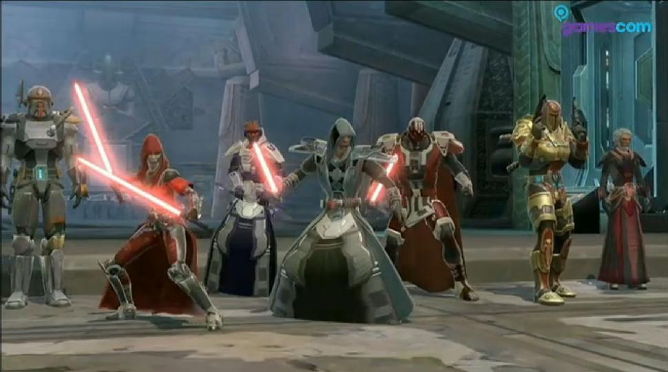 "Die ersten neun Minuten aus der Star Wars: The Old Republic-Operation ""Ewige Kammer"" im Walkthrough-Video gezeigt.  (1)"