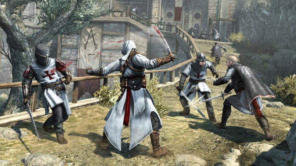 Neue Beta-Videos zu Assassin's Creed Revelations zeigen den Deathmatch-Modus aus dem Multiplayer.  (1)