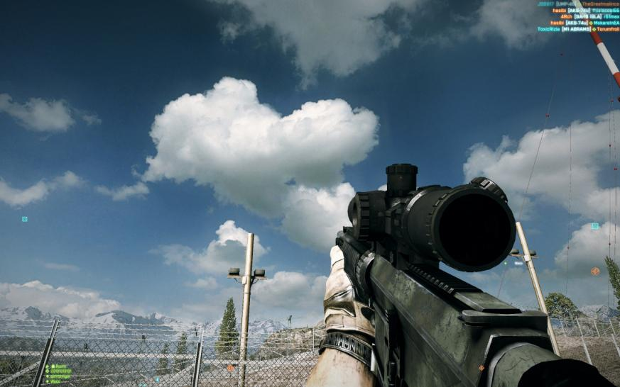 Screenshots aus Battlefield 3. (1)