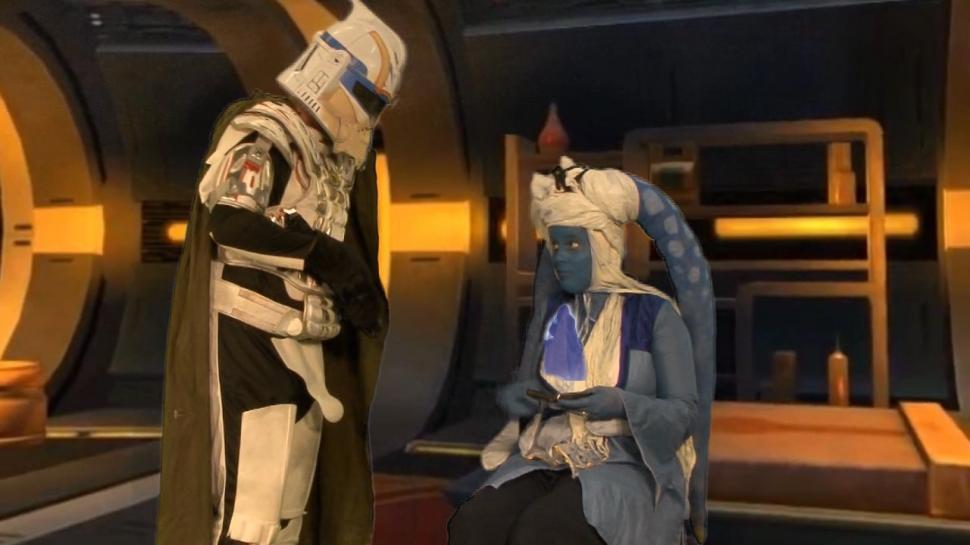 Nerds of the Old Republic: Chazz und Kaylaa haben ein gewaltiges Problem.