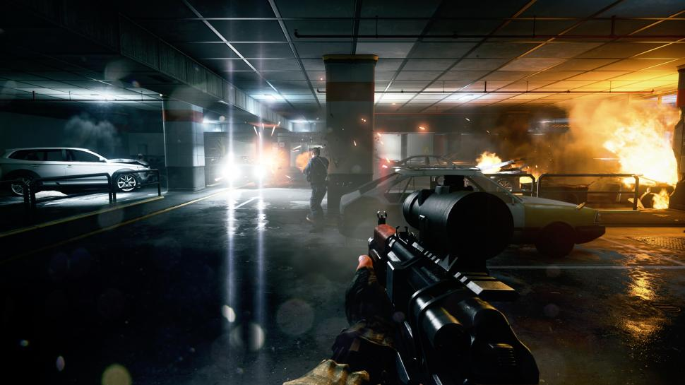 Dice zeigt euch in den neuen Gameplay-Videos die Battlefield 3-Maps Operation Firestorm und Grand Bazaar. (1)