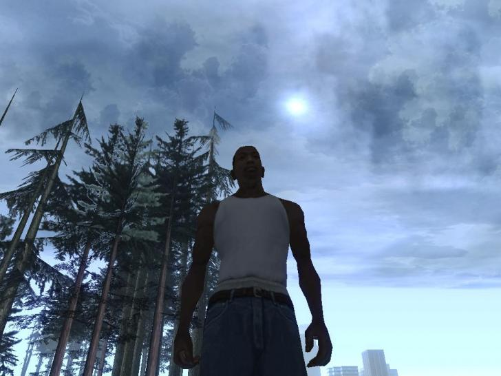 Grand Theft Auto San Andreas mit DX10-Effekten. Screenshots aus der GTA-Mod. (1)