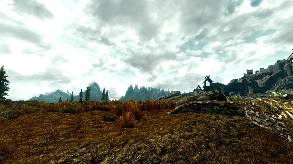 Skyrim mit Post Process Injector.