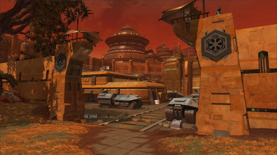 Screenshots aus SWTOR. Star Wars: The Old Republic stellt sich unserem Test. (1)