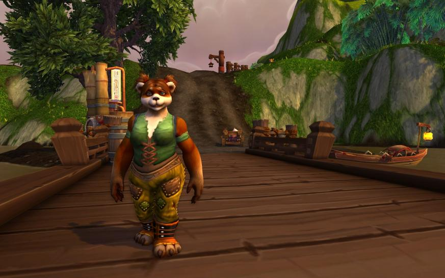 WoW: Mists of Pandaria - eine Pandaren-Dame