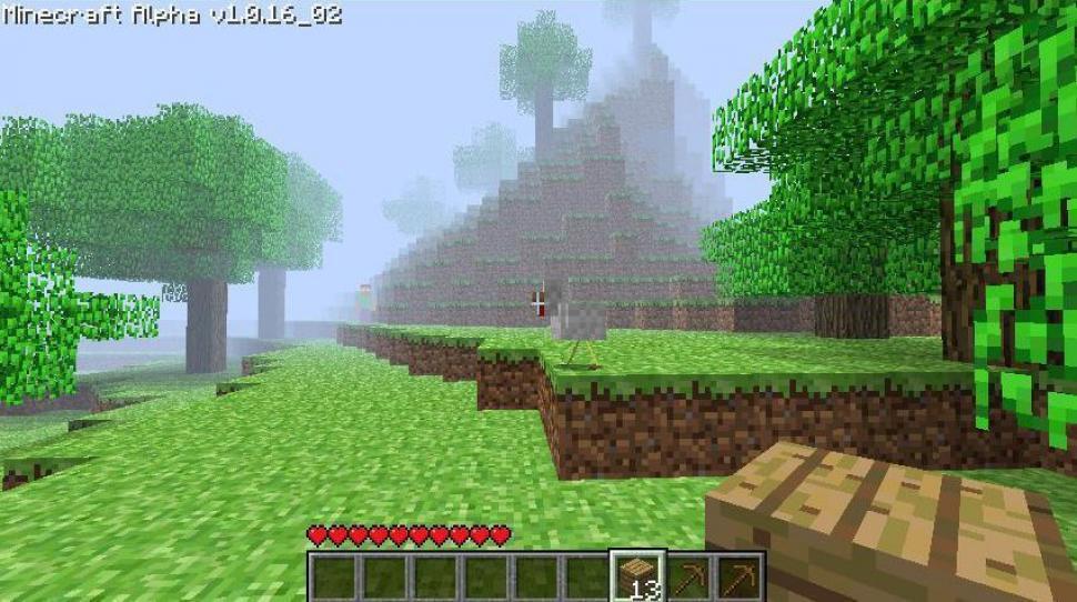 Minecraft Spieler Wandert Bis Ans Ende Der Welt - Minecraft herobrine spielen