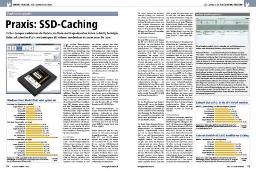 PCGH 06/2012: SSD-Caching