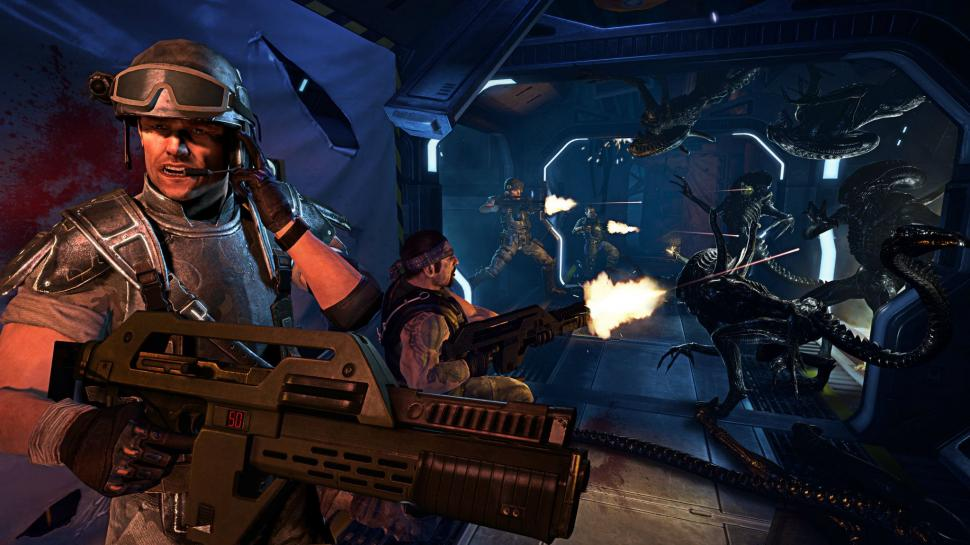 Bilder aus dem Sega-Shooter Aliens: Colonial Marines.  (1)