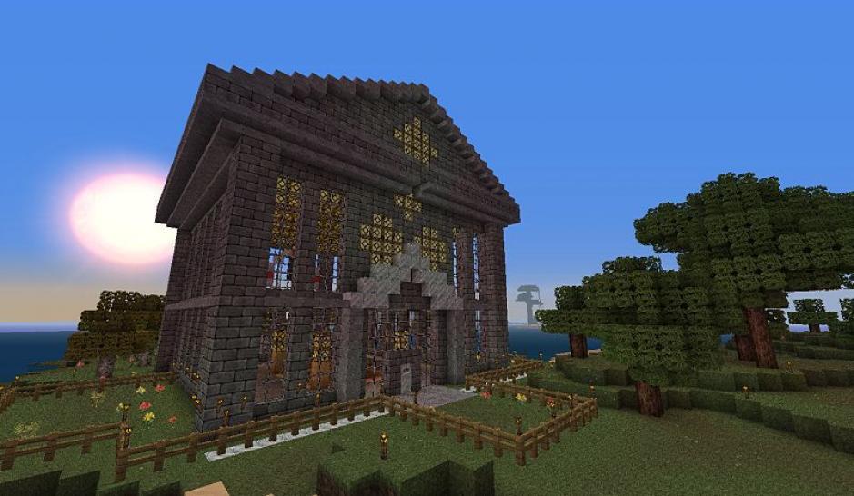 Bilder screenshots zu minecraft mit handelssystem entwickler tweet