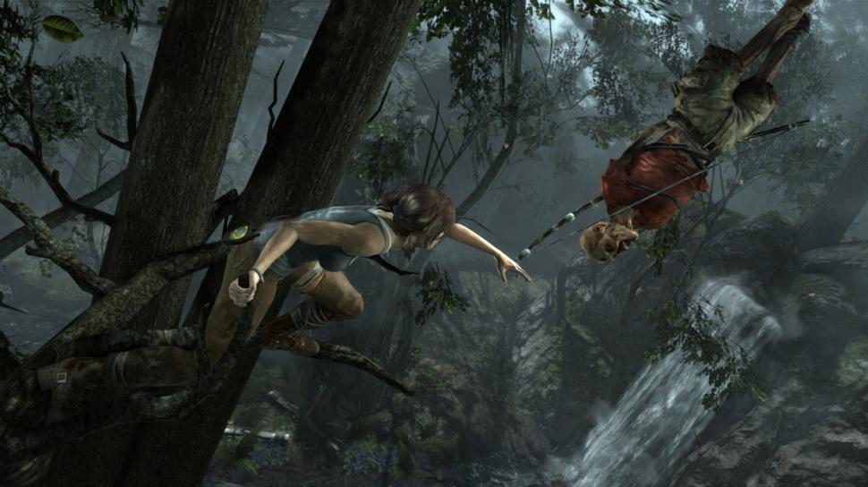 Screenshots aus dem Tomb Raider-Reboot.