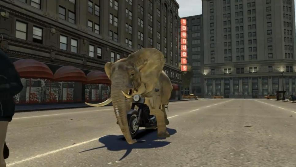 gta 4 als elefant durch liberty city lustige mod l sst euch einen dickh uter spielen. Black Bedroom Furniture Sets. Home Design Ideas