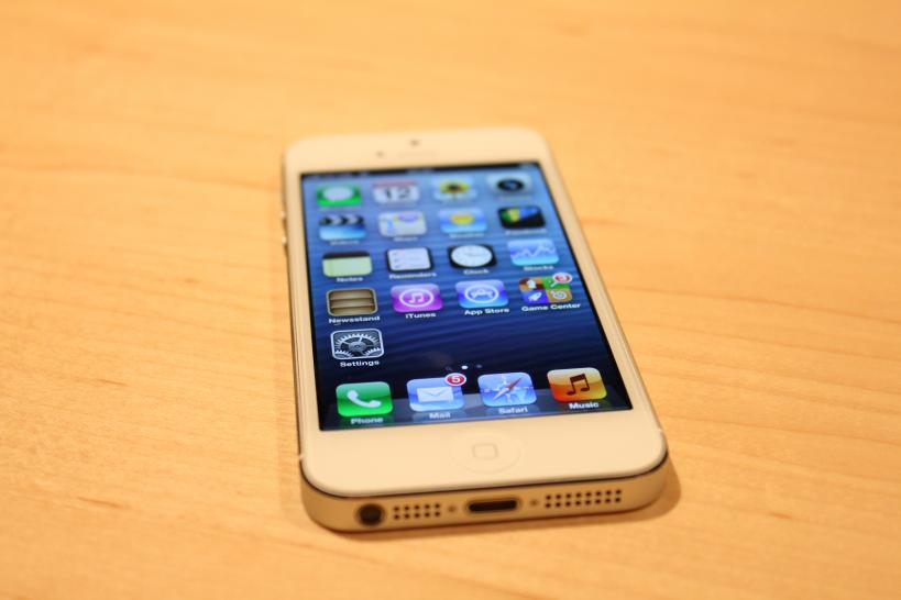 iPhone 5 - Bilder des Apple-Smartphones in der aktuellen Generation (1)
