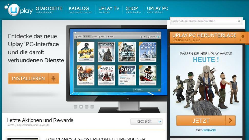 how to change account on uplay pc