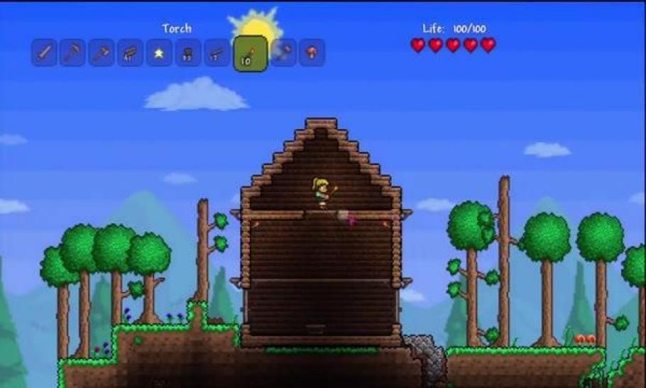 Terraria Erfolgreichster XBLATitel Der Woche Noch Vor Minecraft - Minecraft terraria spielen