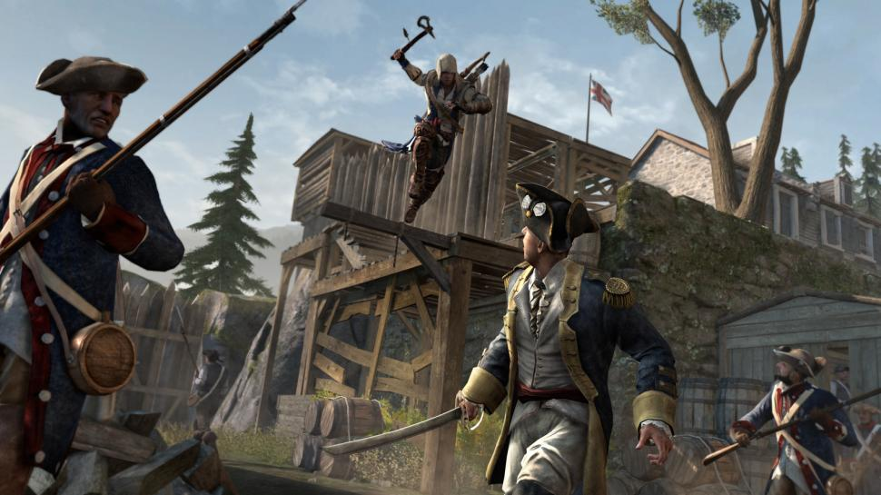 Assassin's Creed 3: Ein interaktives Video demonstriert die Entscheidungsfreiheit von Connor. (1)