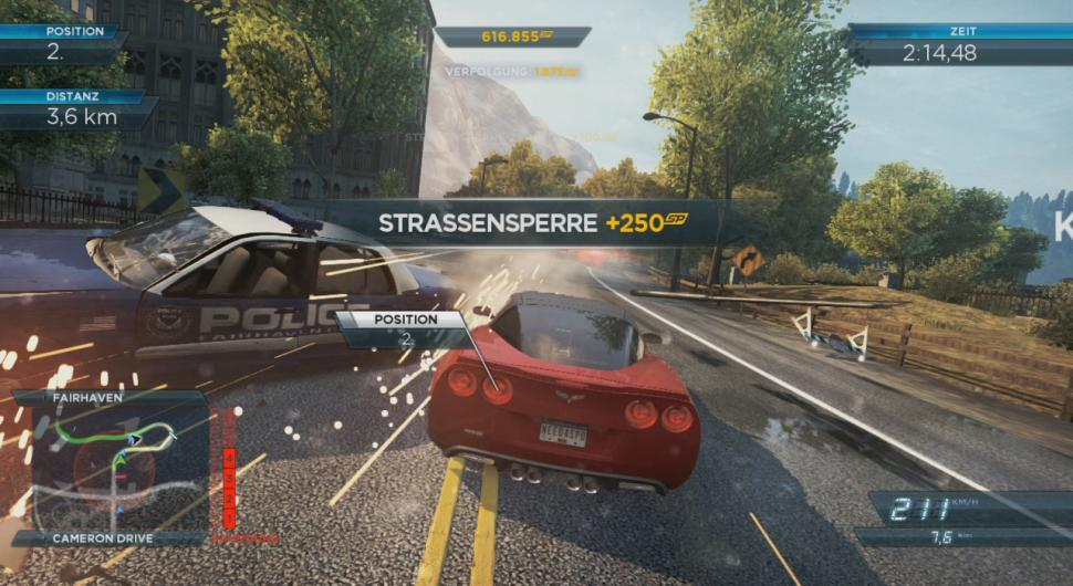 10. Need for Speed: Most Wanted