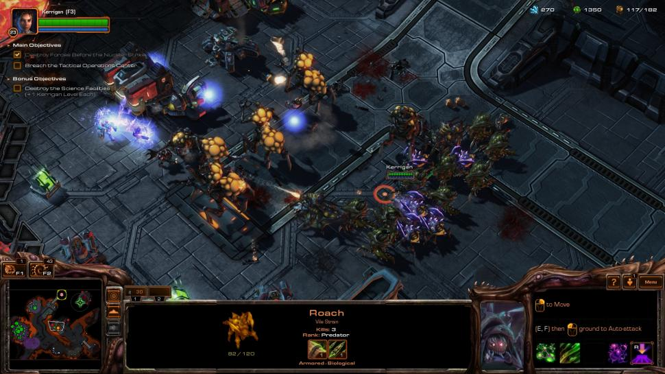 Starcraft 2: Heart of the Swarm im Einzelspieler-Test. (1)