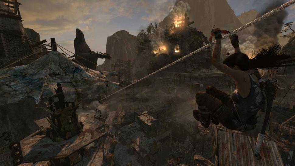 Screenshot aus der PC-Version von Tomb Raider. (2)