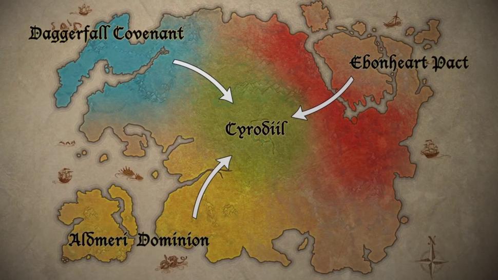 The Elder Scrolls Online: Durchqueren der Spielwelt nimmt ...