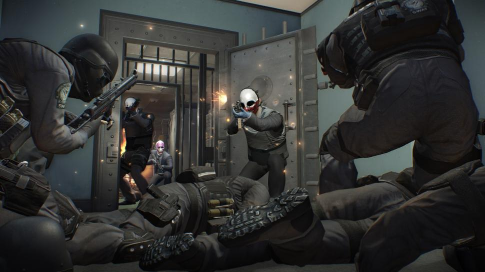Payday 2 im Gameplay-Trailer. (1)