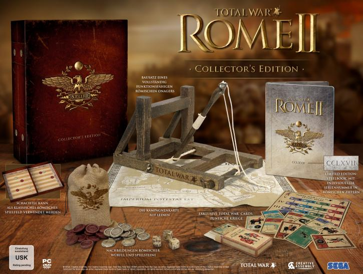Total War: Rome 2 erscheint am 3. September 2013, auch in einer streng limitierten Collector's Edition. (1)