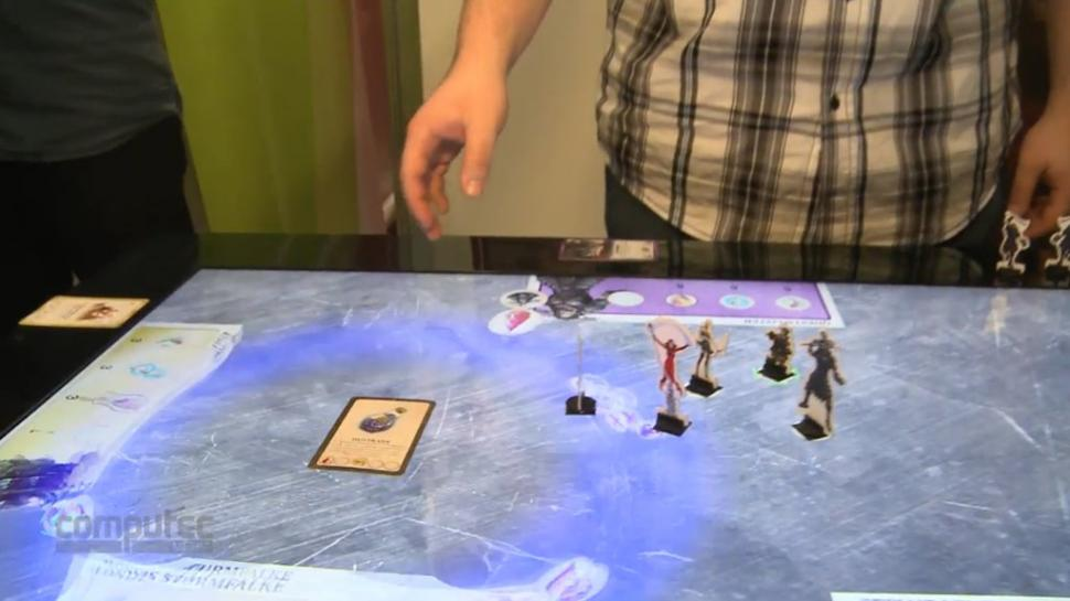 Das Augmented Board Game Mit Multi Touch Oberflche Kostet Rund 9000 Euro Und Wurde