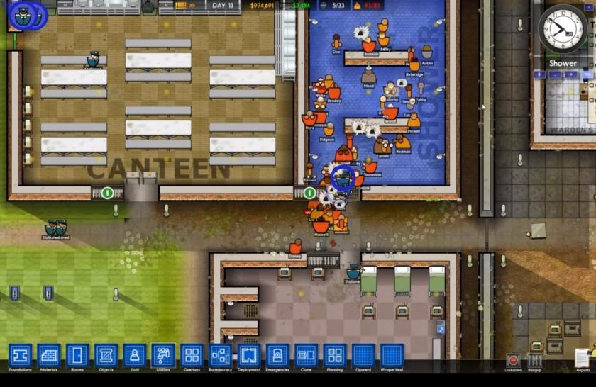 Prison Architect auf der Gamescom 2015. (1)
