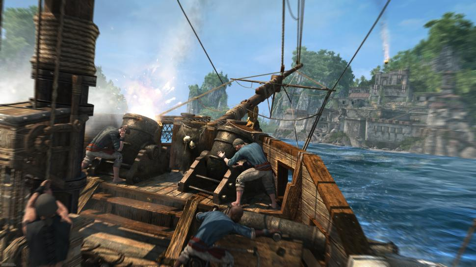 Ubisoft zeigt neue Screenshots aus Assassin's Creed 4: Black Flag. (1)
