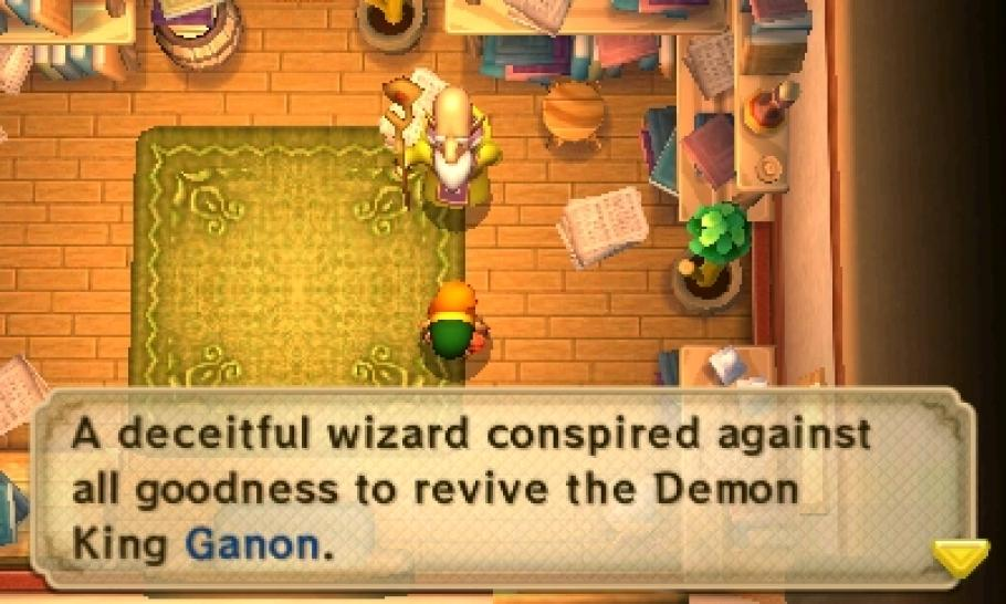 The Legend of Zelda: A Link Between Worlds - Bilder aus dem neuen 3DS-Zelda. (1)