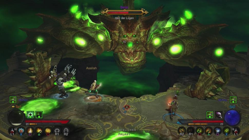Diablo 3: Ultimate Evil Edition für PS4 - Spielszenen von