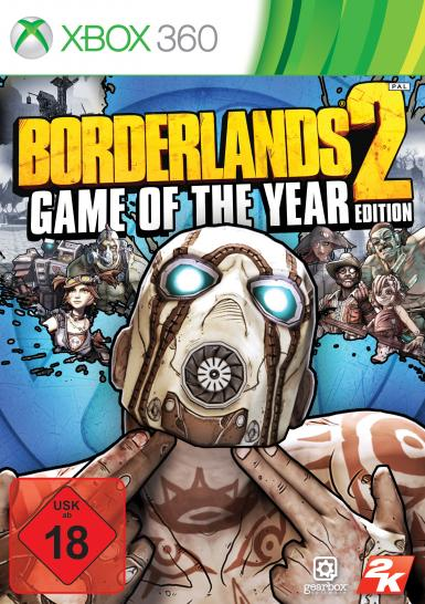 Borderlands 2: Game of the Year-Edition erscheint am 11. Oktober 2013. (1)