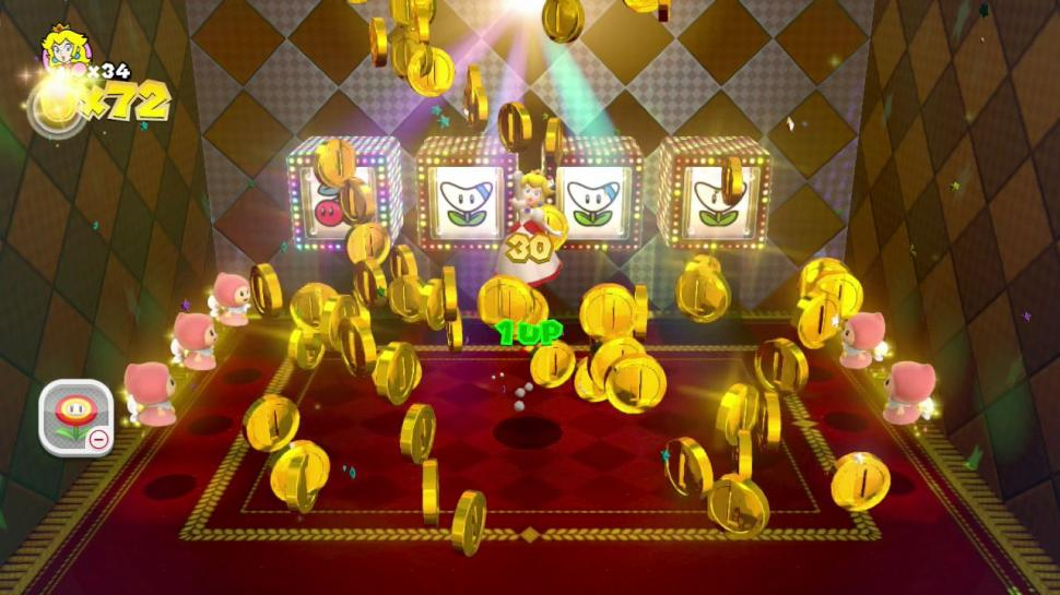 Super Mario 3D World - Bilder aus dem Jump and Run.