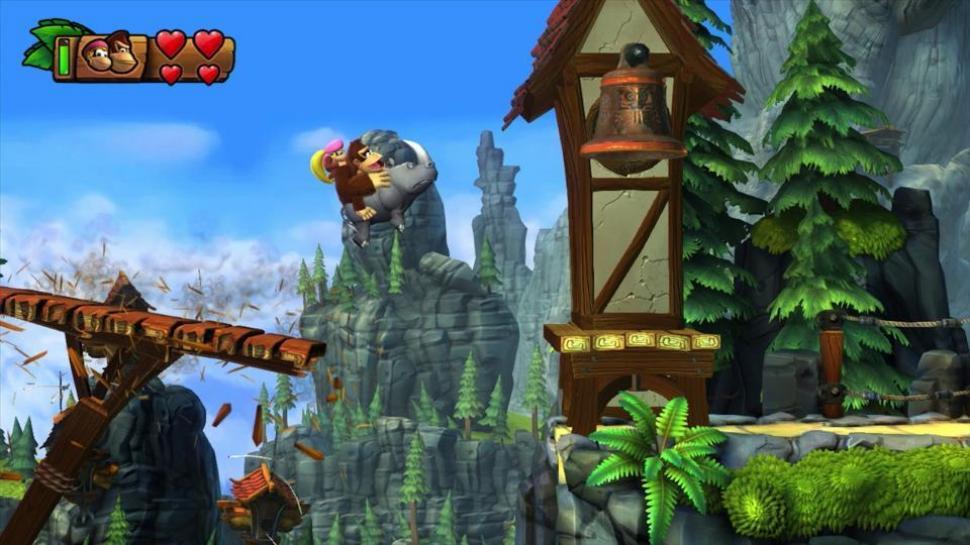 Donkey Kong Country: Tropical Freeze - Native Auflösung von 720p und ...