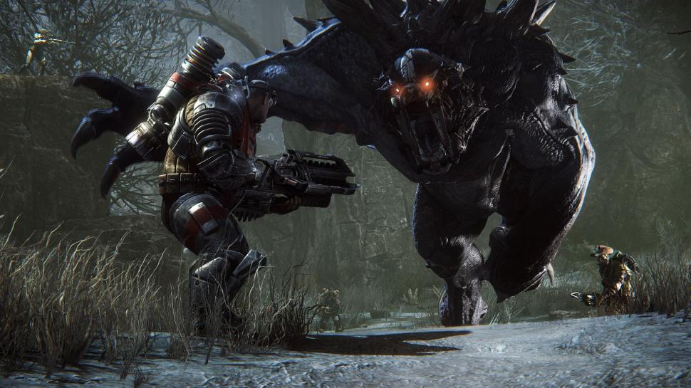 Evolve-Designer Chris Ashley erklärt in einem Interview, welche Features den neuen Koop-Shooter ausmachen. (1)