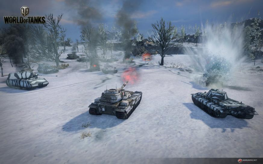 World of Tanks: Panzerschlachten bald mit neuer Physikengine. (1)