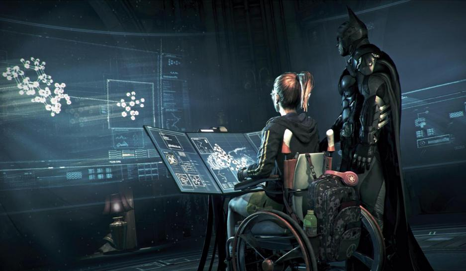 Neue Screenshots zu Batman: Arkham Knight zeigen das Batmobil in Aktion. (1)