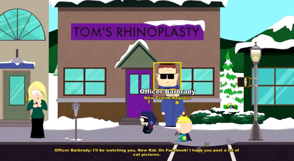 "South Park: Der Stab der Wahrheit - Easter Egg ""Officer Barbrady"""