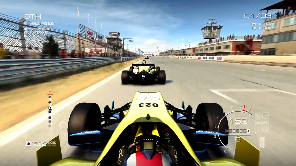 Grid Autosport - Open-Wheel-Rennen im Video. (1)